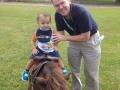 Charles Tate and grandson Ashton