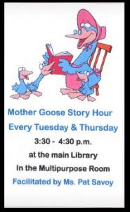 Mother Goose Story Hour @ Evangeline Parish Library