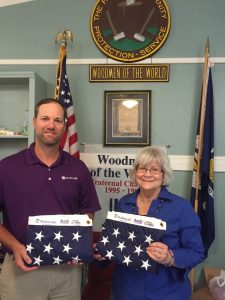 2016 Flag Donation Kevin Lafleur