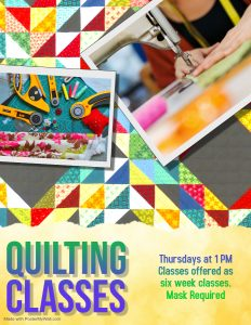 Quilting @ Evangeline Parish Library