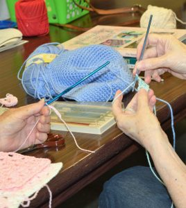 Crocheting @ VILLE PLATTE LIBRARY