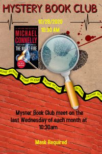 Mystery Book Club @ Evangeline Parish Library